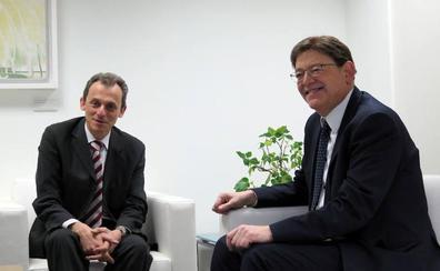 Ximo Puig, sobre el paso de Pedro Duque de encabezar lista por Alicante: «Ha sido una alegría»
