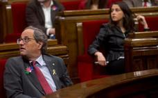 Torra avisa de que no permitirá que se divida a los catalanes por su origen