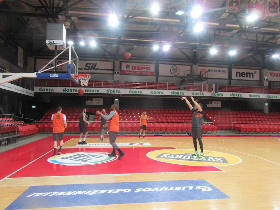 Un concierto impide al Valencia Basket entrenar en el Siemens Arena