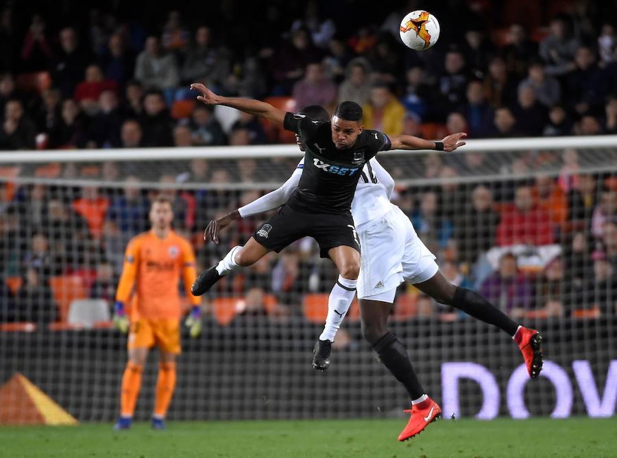 El Valencia-Krasnodar de Europa League en imágenes