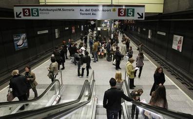 Las estaciones de Xàtiva y Colón estarán cerradas durante la manifestación del 8-M por motivos de seguridad