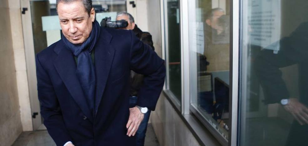 Zaplana pide la nulidad de las actuaciones del caso Erial
