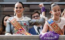 Reyes Martí logra un nuevo aplauso con la mascletà más reivindicativa
