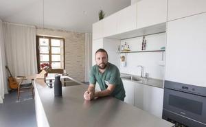 La casa de Raúl Cerdán, un loft modular