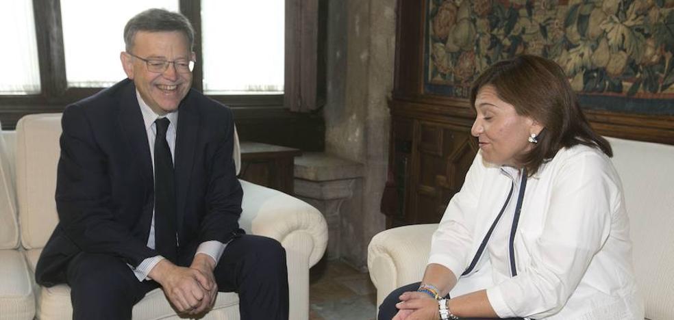 Isabel Bonig quiere un cara a cara con Ximo Puig para «confrontar los principales modelos»