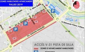 Dónde aparcar en Valencia en Fallas 2019