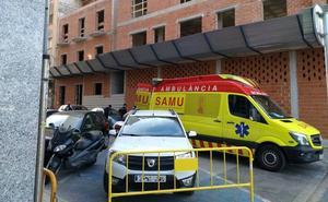 Un hombre resulta herido tras sufrir una caída en un edificio en obras de Dénia