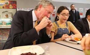 Los lunes serán vegetarianos en las escuelas públicas de Nueva York