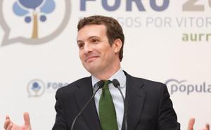 Casado pide que «nadie experimente con un voto» y apela a una España unida