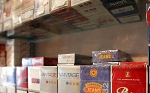 Incautadas 3.400 cajetillas de tabaco
