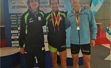 Moha Rida Younes conquista dos bronces en los Nacionales Máster de pista cubierta