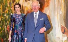 La reina Letizia y el príncipe Carlos de Inglaterra inauguran la exposición de Sorolla en la National Gallery