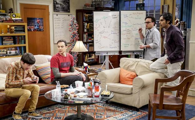 Una escena de la serie 'The Big Bang Theory'. /LP