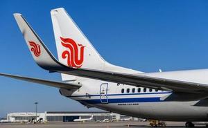 Aterriza en Alicante un Boeing 737 MAX con destino Bruselas ante la prohibición de volar en Europa