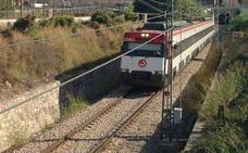 Retrasos en las líneas C1 y C2 al quedar parado un tren de mercancías en Alfafar