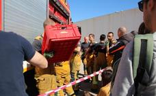 Medio centenar de bomberos se desplazarán a Dénia, Pamis, Pego y Calp para la cremà