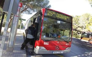 La línea 25 de la EMT parará en El Perelló a partir de mañana