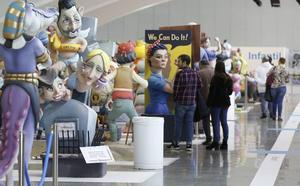 Récord de visitantes en la Exposición del Ninot