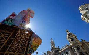 Una ruta solidaria y accesible por 60 fallas de Valencia