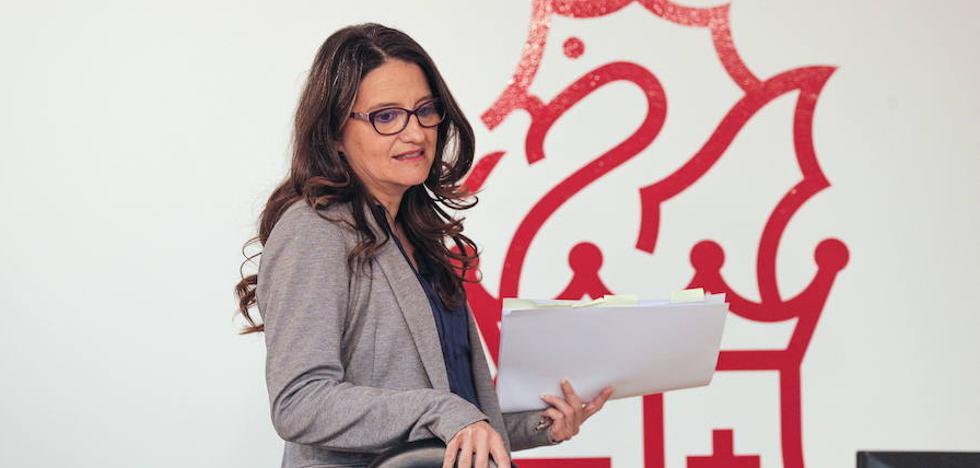 La Junta Electoral le suspende a Mónica Oltra la presentación de la Ley de Servicios Sociales en Castellón