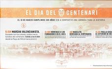 Todos los actos del Centenario del Valencia CF: horarios y programa oficial