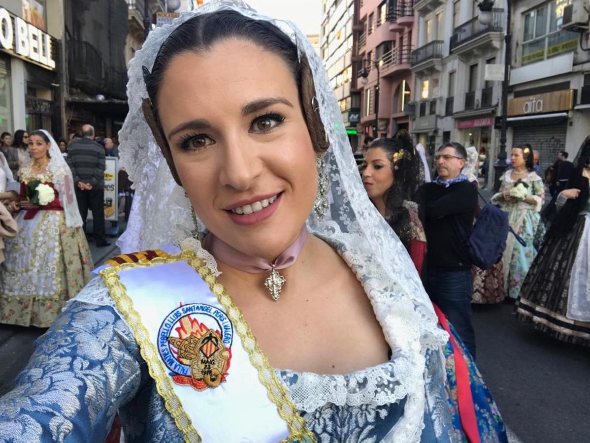 Los selfies de las Fallas 2019