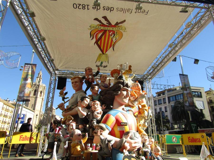 Falla infantil de la Falla Plaza de la Reina-Paz-San Vicente