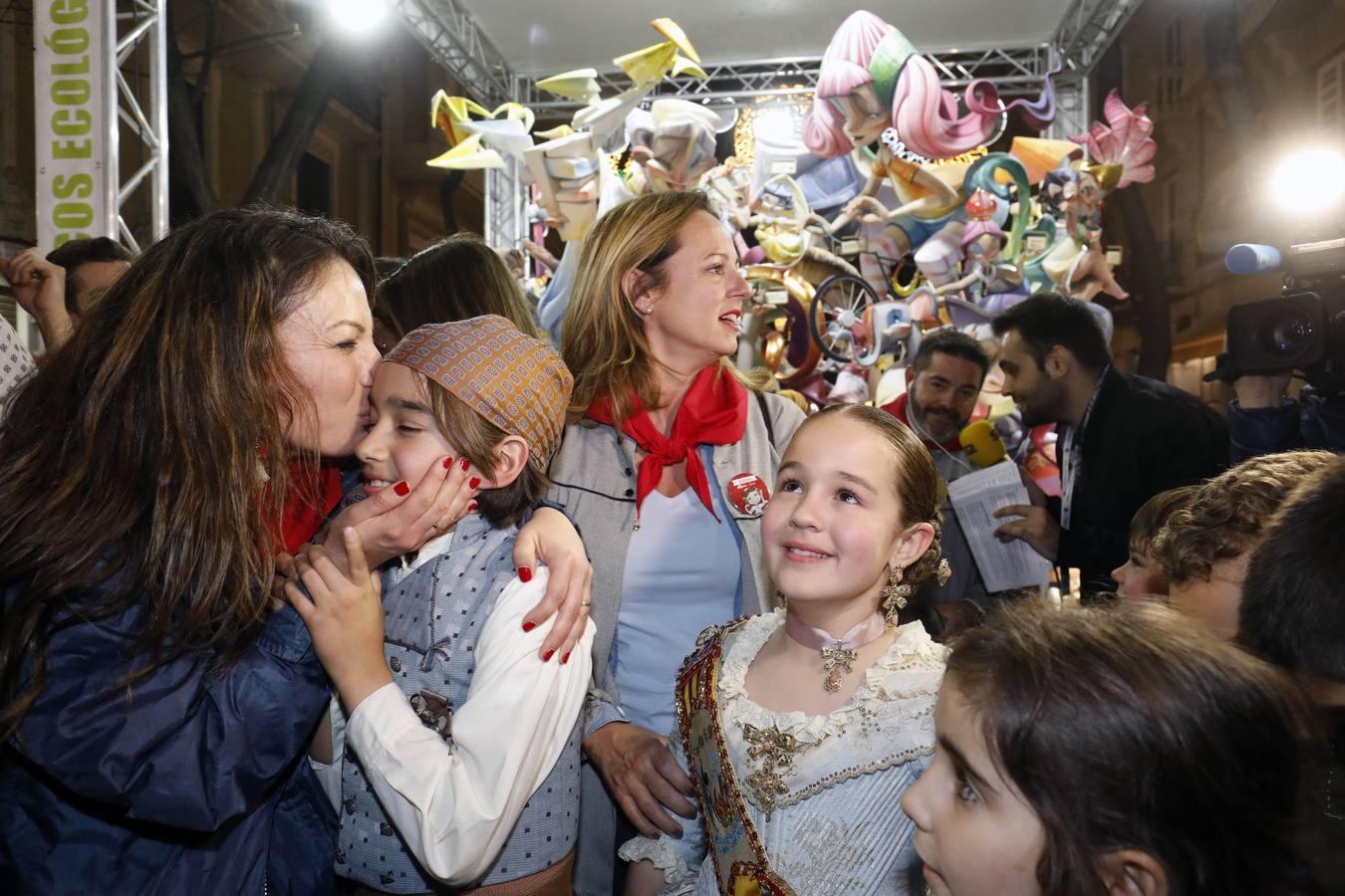 Así es la falla infantil de Maestro Gozalbo-Conce Altea, primer premio de la sección Especial 2019 de las Fallas de Valencia