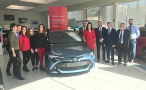 Toyota Valencia recibe el Corolla en su décimo aniversario