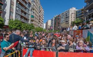 Miles de personas se aprestan a vivir las jornadas más importantes de la fiesta fallera