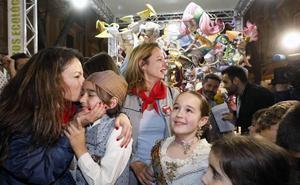 Maestro Gozalbo: Alegría desbordada en la falla infantil ganadora