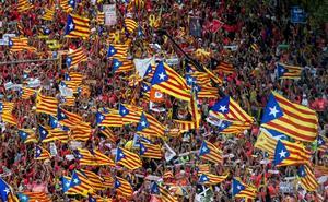 El secesionismo busca en Madrid una exhibición de fuerza en pleno juicio