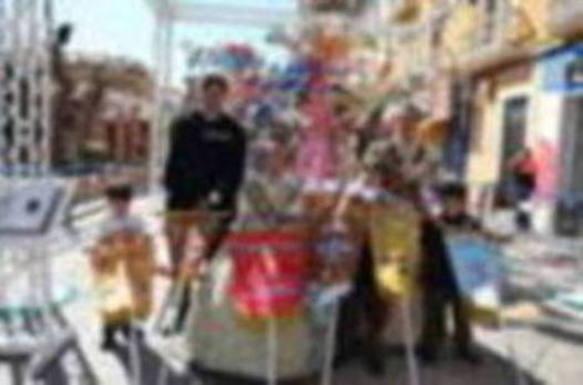 Centro, campeona infantil de las Fallas de Dénia