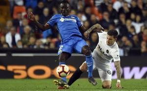 Resumen del empate entre el Valencia y el Getafe (0-0)