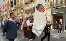 El Valencia CF ofrenda a la Virgen