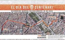 El Centenario del Valencia CF, en directo