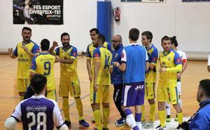 El CFS Mar Dénia bate al Calpe Futsal y se acerca al título