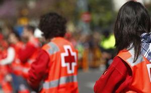 38 atendidos en la mascletà y sólo tres evacuados por la Cruz Roja