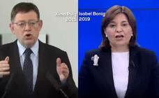 Bonig emplea las palabras de Puig en 2015 para volver a pedir un cara a cara electoral