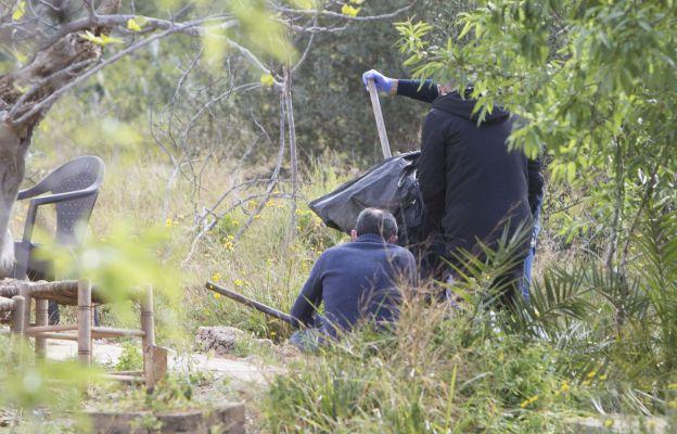 Búsqueda del arma homicida del doble crimen de los dos niños de Godella