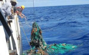 69 toneladas de basura en el mar valenciano