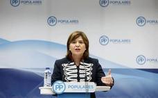 Bonig recuerda a César Sánchez que los estatutos del partido sobre la incompatibilidad de cargos «son para todos»