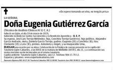 La genial esquela de una mujer fallecida en Asturias: «Os espero tomando un vino, no tengáis prisa»