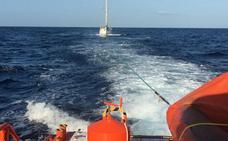Rescatado en Peñíscola tras seis días a la deriva en un velero que zarpó de Calpe