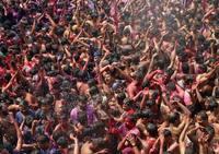 El Holi 2019: la fiesta de los colores en la India