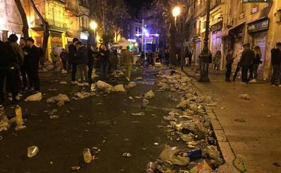El botellón en Valencia, cuatro años sin control
