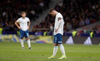 El pubis de Messi hace saltar las alarmas