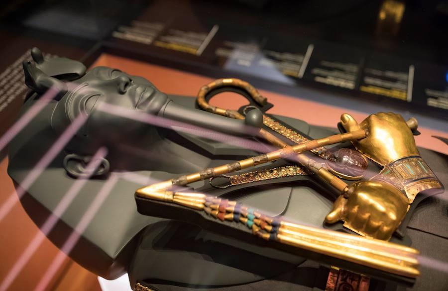 Los tesoros eternos de Tutankamón