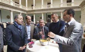 Aperitivo con cinco leyendas del Valencia CF