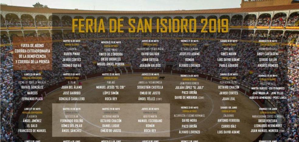 Precios entradas de la Feria de San Isidro 2019: abonos, corridas extra...